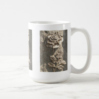 Stone Rose Coffee Mug