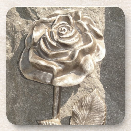 Stone Rose Drink Coasters