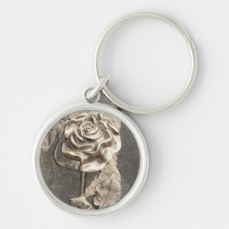 Stone Rose Keychain