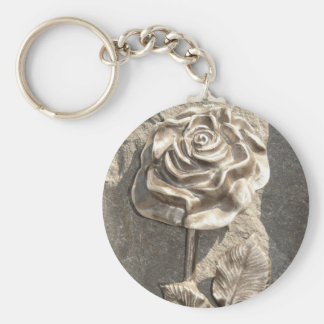 Stone Rose Key Chains