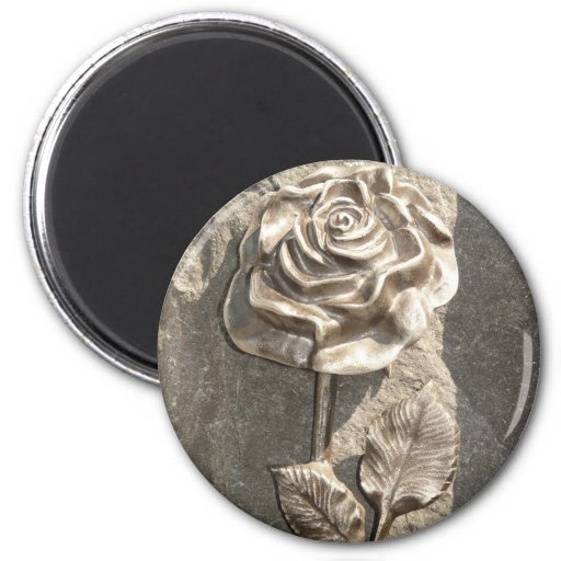 Stone Rose Magnets