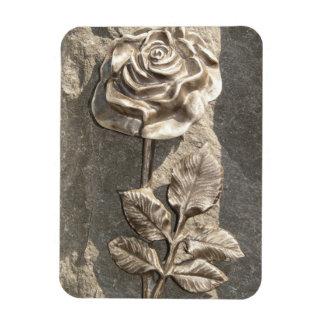Stone Rose Vinyl Magnet