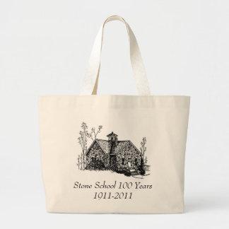 Stone School 100 Years Tote Jumbo Tote Bag
