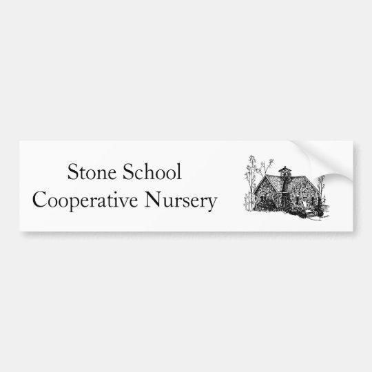 Stone School Bumper Sticker