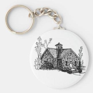 Stone School Keychain