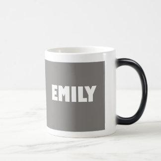 Stone shade Emily name Magic Mug
