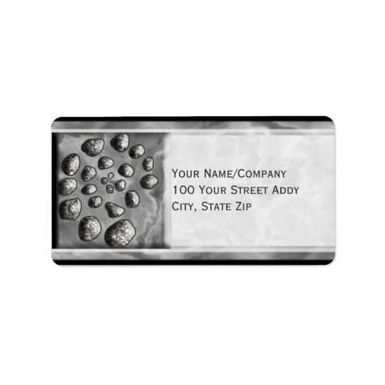 Stone Spiral Label