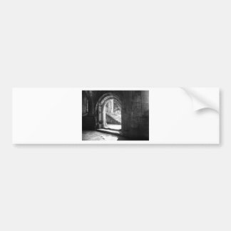 stone-stairs-in-fountains-abbey bumper stickers