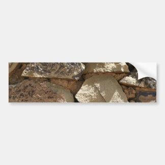 Stone Texture Bumper Sticker