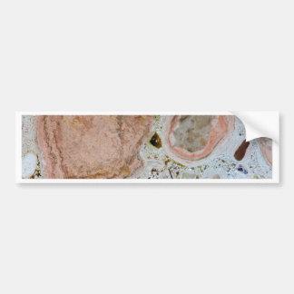 Stone texture: Carbonate Bumper Sticker