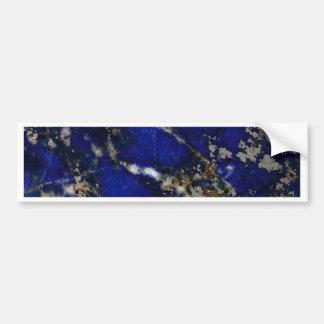 Stone texture: Lapis lazuli Bumper Sticker