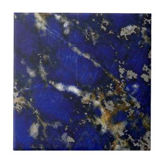 Stone texture: Lapis lazuli Tile