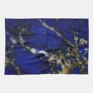 Stone texture: Lapis lazuli Towel