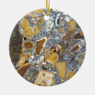 Stone texture: Laterite Christmas Ornament
