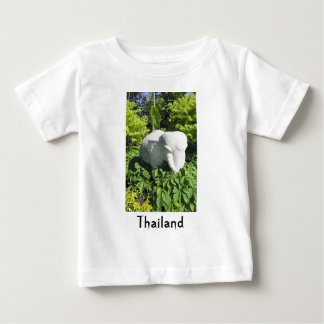Stone Thai Elephant Baby T-Shirt