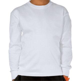 Stone the Lion Dog Kids Long Sleeve Shirt White Shirt