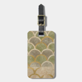 Stone Tile Design by Chariklia Zarris Luggage Tag
