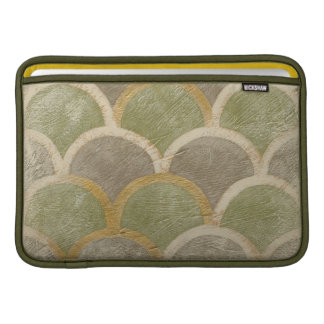 Stone Tile Design by Chariklia Zarris Sleeve For MacBook Air