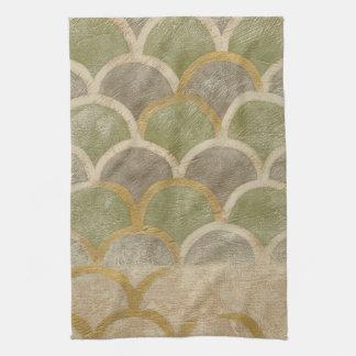 Stone Tile Design by Chariklia Zarris Tea Towel