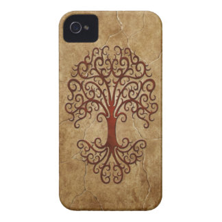 Stone Tribal Tree Case-Mate iPhone 4 Case