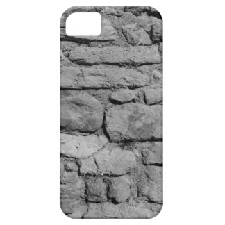 Stone Wall. Black and white. Case For The iPhone 5
