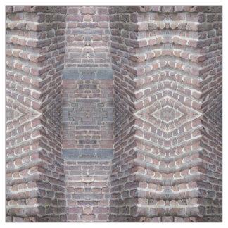 Stone Wall, Bricks Pattern, Fabric