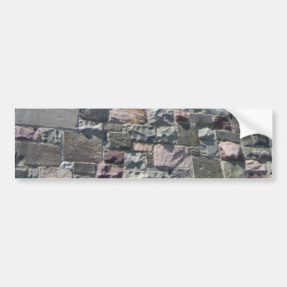 Stone Wall bumper sticker