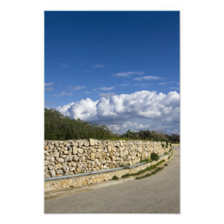 Stone Wall, Gozo Photo Art