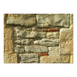 Stone Wall Image. Announcement