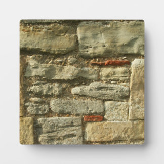Stone Wall Image. Plaque