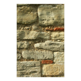 Stone Wall Image. Stationery