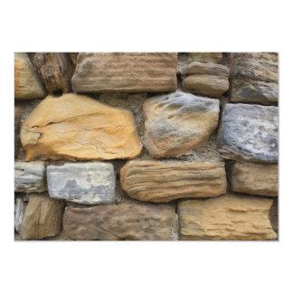 Stone Wall Invitation