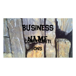 Stone Wall Pack Of Standard Business Cards