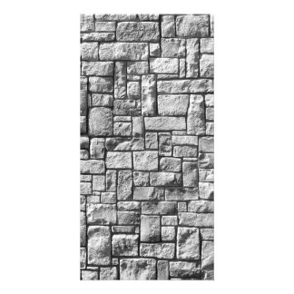 Stone Wall Personalized Photo Card