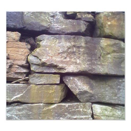 Stone Wall Art Photo