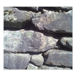 Stone Wall Photograph