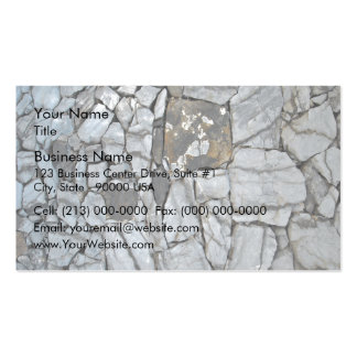 Stone Wall, Stacked Stones Business Card