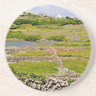 Stone Walls of Ireland Coaster