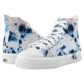 Stone Water Printed Shoes