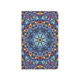 Stone Wonder  Kaleidoscope Pocket Journal