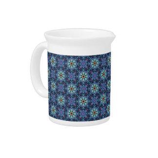 Stone Wonder Kaleidoscope    Porcelain Pitchers