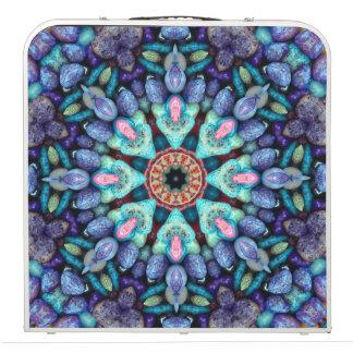 "Stone Wonder  Vintage Kaleidoscope 48""  Pong Table"