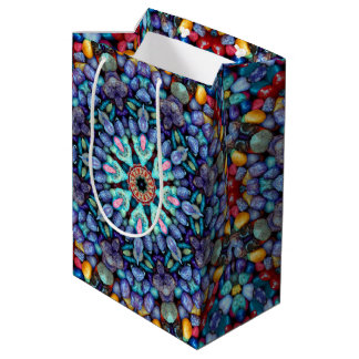 Stone Wonder Vintage Kaleidoscope Medium Gift Bag