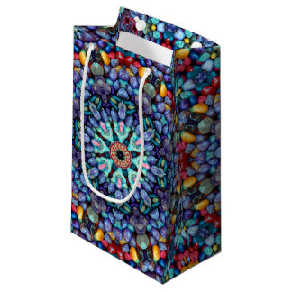 Stone Wonder Vintage Kaleidoscope Small Gift Bag