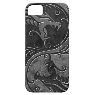 Stone Yin Yang Dragons Barely There iPhone 5 Case