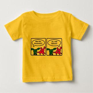 Stoned Bunnies – Bist Du Drummer? Ja, und baesser! Baby T-Shirt