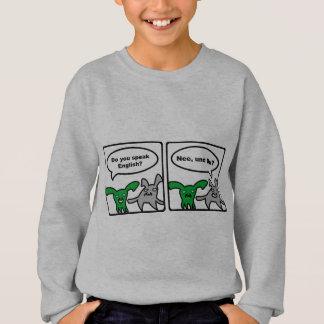 Stoned Bunnies – Do you speak English? Nee,... Sweatshirt