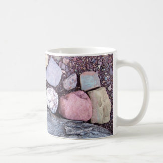 Stoned coffee mug colourful earthy