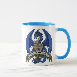 Stonefire Dragons Crest (Blue Dragon) 11oz Mug