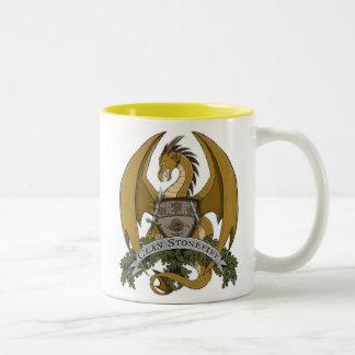 Stonefire Dragons Crest (Gold Dragon) 11oz Mug